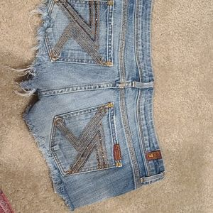 Seven for all Mankind Destructed Shorts